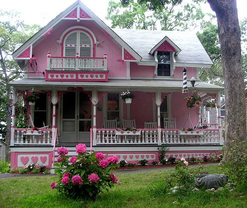 postaday my dream house doll house pink house mansion