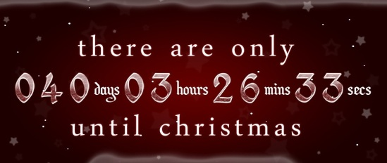 postaday  How many days until Christmas   christmas 2012 countdown aRclhbxi